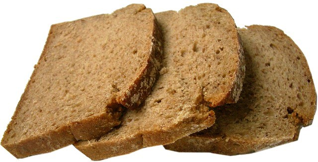 Whole wheat bread instead of white bread