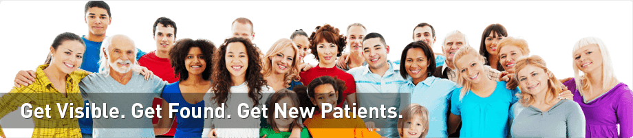 get visible get found get new patients