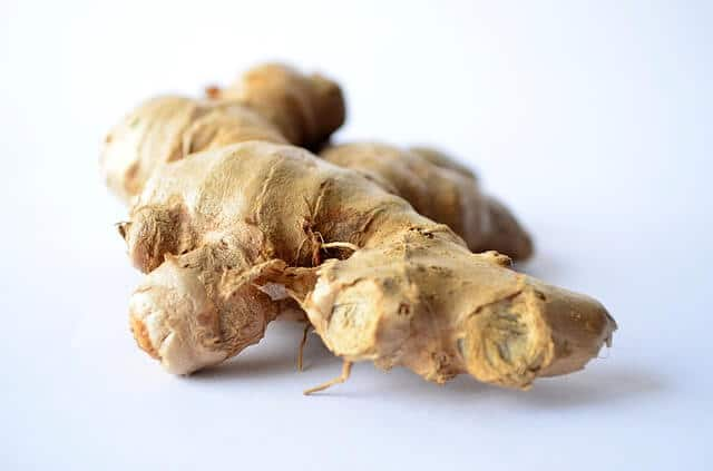 Ginger For Curing Burning Feet Sensation