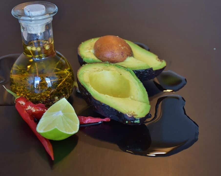 Avocado and Lemon juice
