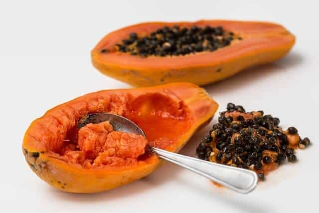 Papaya reduce pigmentation