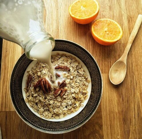 Oats Reduce cholesterol