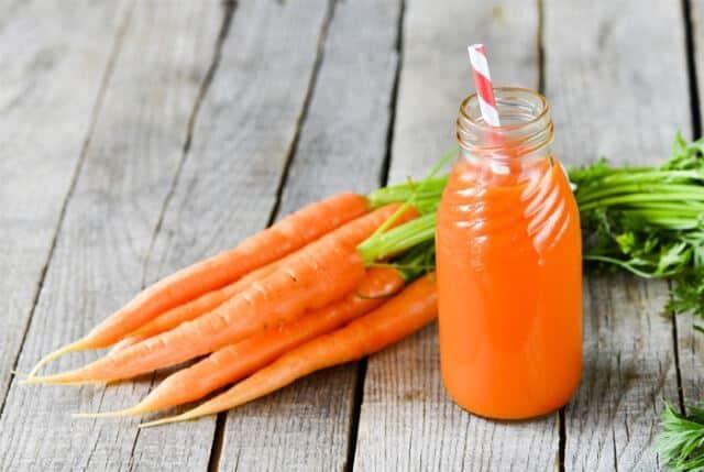 Carrot juice Flush Nicotine