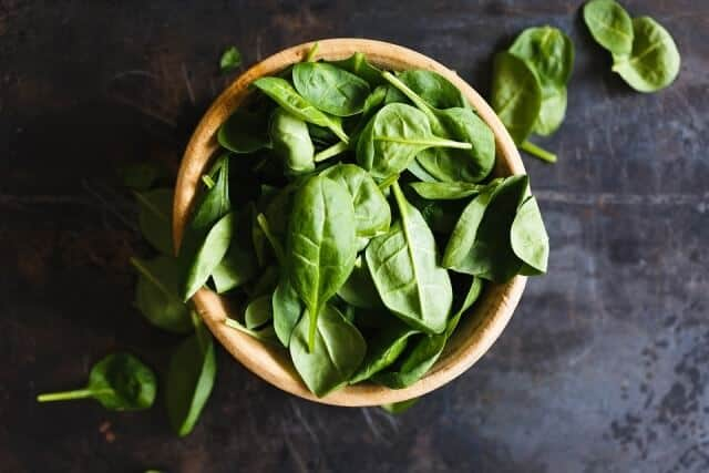 Spinach Flushes Nicotine