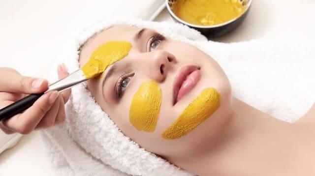 Turmeric Face Pack For Treating Melasma