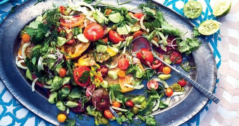 Health Benefits Of Shirazi Salad & Recipies
