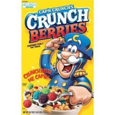 Captain Crunches Crunch Berries