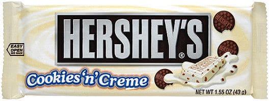 Hershey's Cookie and Cream