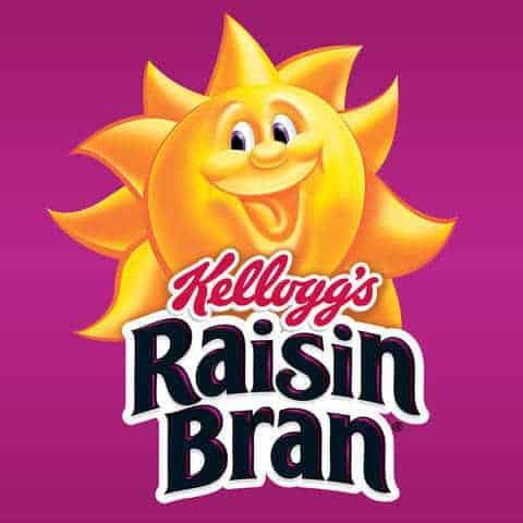 Kellog's Raisin Bran-Two Scoops