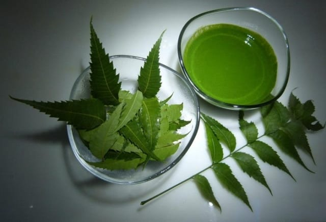 Neem juice for hair