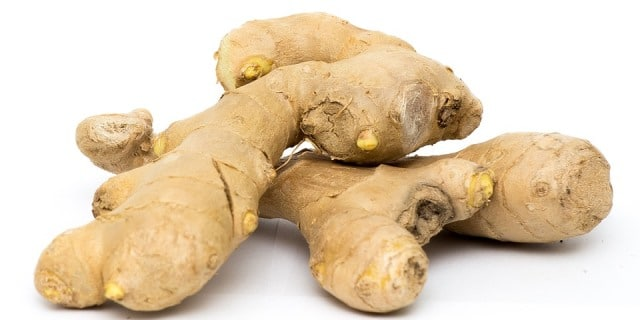 Ginger to treat hives breakout
