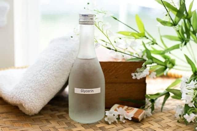 Glycerin for dry skin