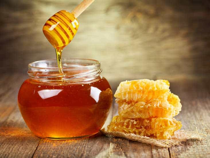 Honey for blood purification