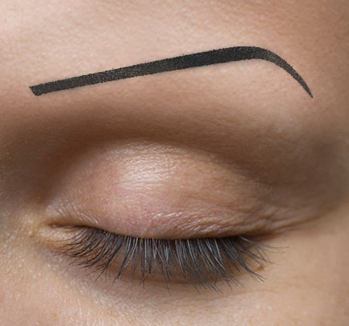 The Chola eyebrow