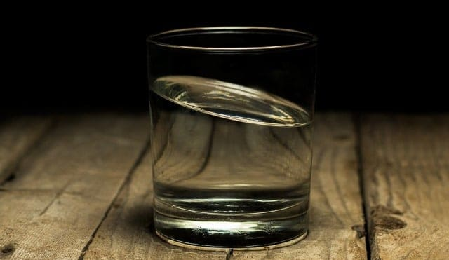 Warm Water to relieve from chills without fever