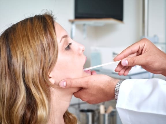 Diagnosis of scalloped tongue