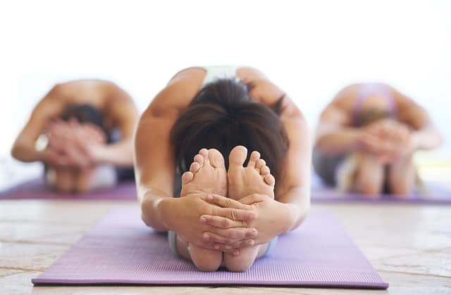 Exercise and asanas