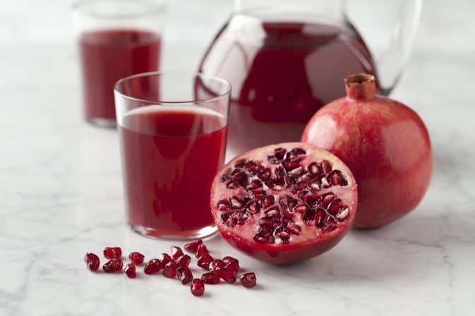 Pomegranate juice for vitiligo