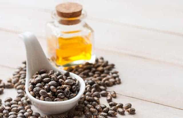 Castor oil for eye