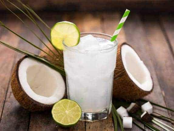 Coconut water for eye