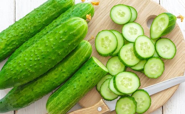 Cucumbers for skin