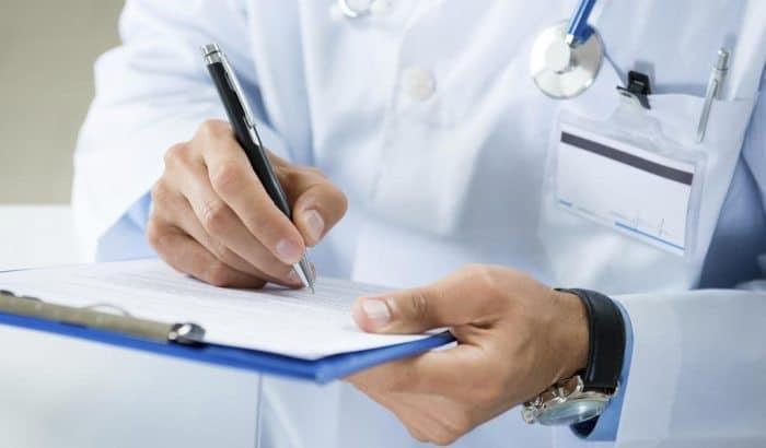 Diagnosis of hydroureteron