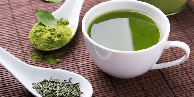 Green tea for breath