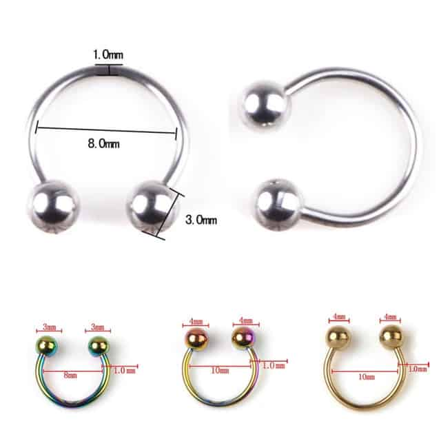Jwellery for smiley piercing