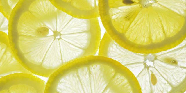 Lemon for shiny nails