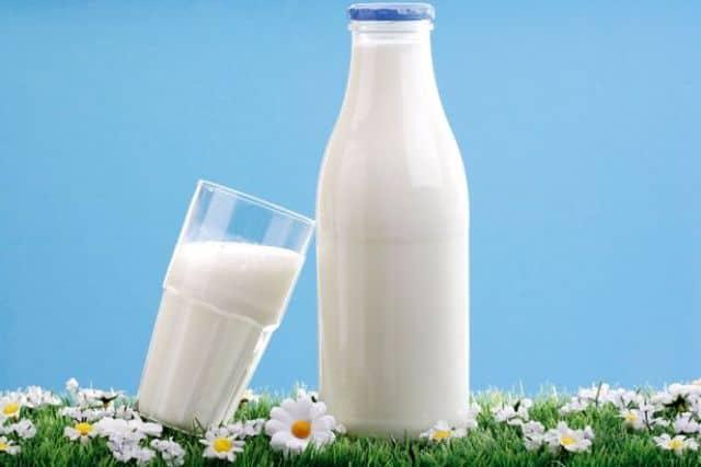 Milk for shiny nails