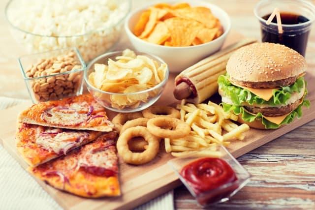 Poor diet causes irregular periods