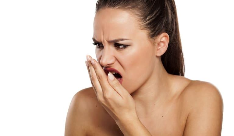 Prevents bad breath