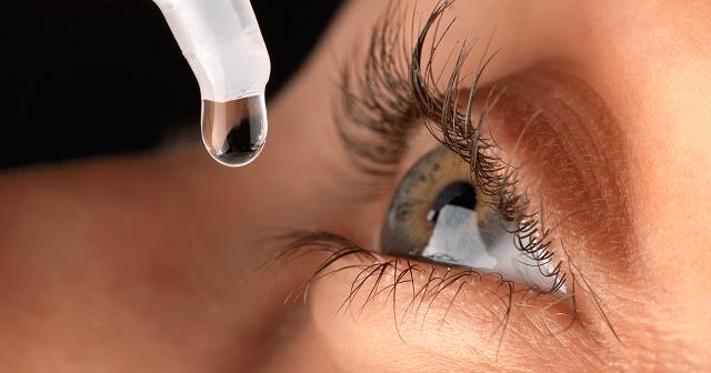 Put eye drops