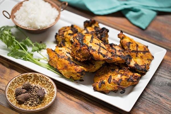 Cardmom chicken