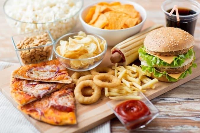 Food rich in histamines