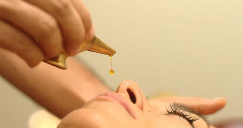 Oiling Nose (Ayurveda Nasya) : Benefits,Uses,How To Do It