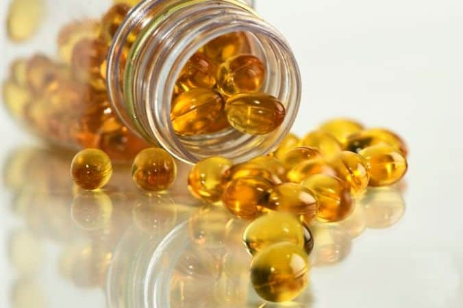 Fish oil as blood thinner