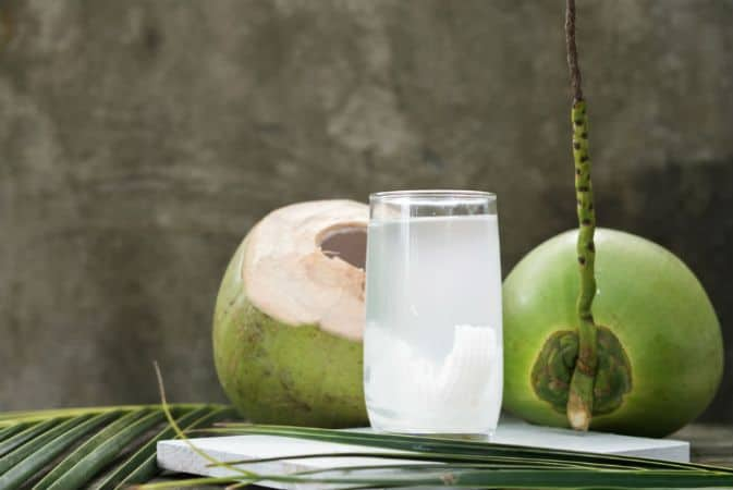Coconut lime rickey