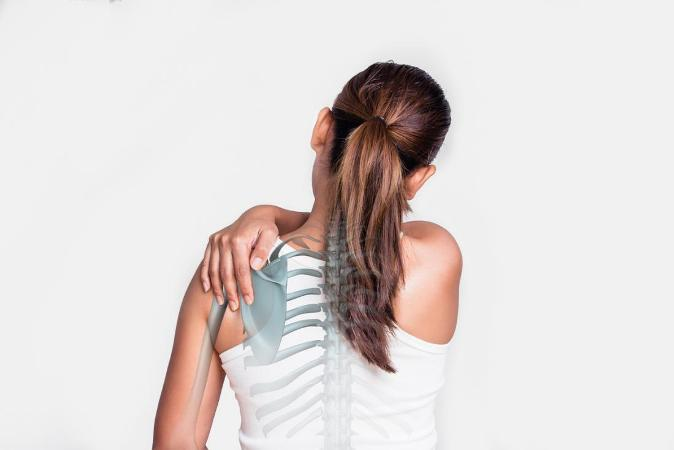 Exercise for shoulder blade pain