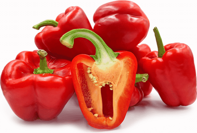 Red bell pepper for white blood cells