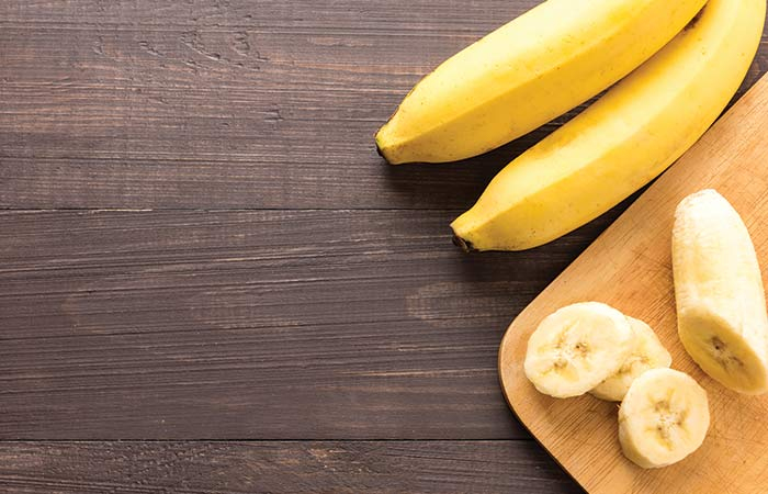 DIY Face Mask Using Banana