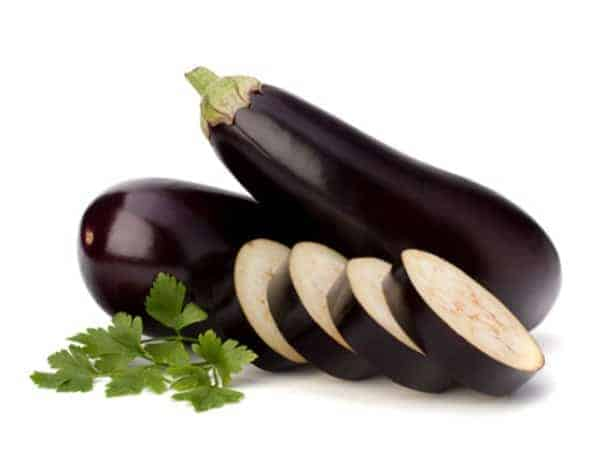 Egg plant for actinic keratosis
