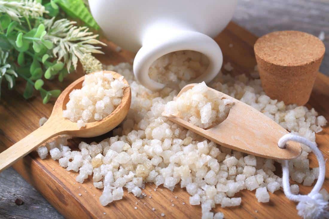 Epsom salt to get rid of back spasm