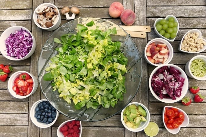 Fruits and vegetable for essential tremor vegan diet
