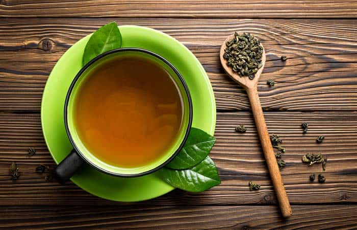 Green Tea to treat actinic keratosis