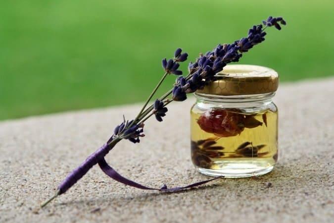Lavender essential to treat back spasm