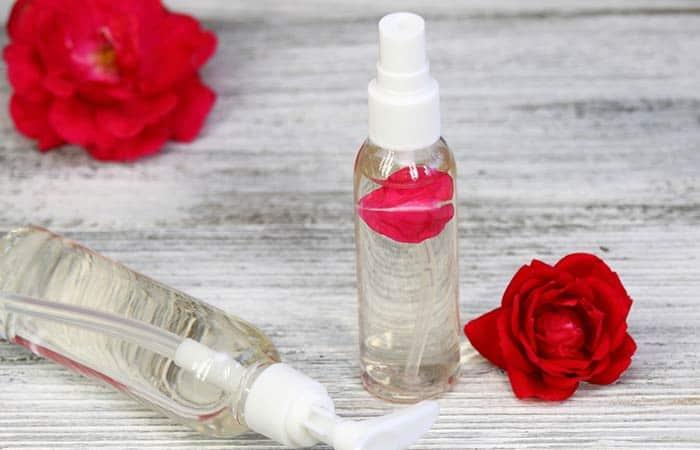 Rose oil to treat Morgellon's disease