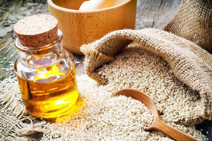 Seasme Oil as a remedy to treat hair dye allergy