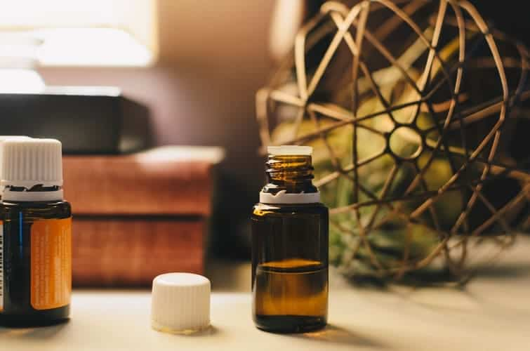 Vetiver oil to cure hand tremors